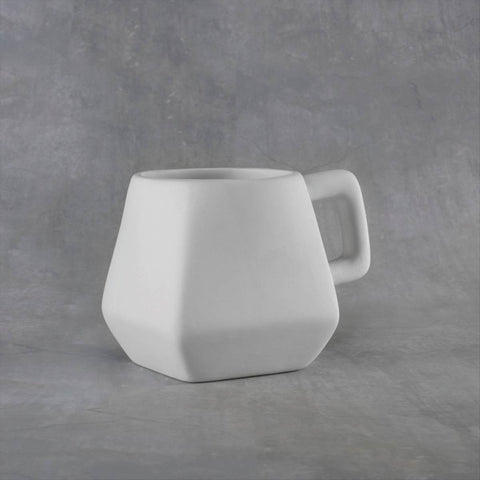 Duncan 38114 Bisque Dimensional Mug 10 oz