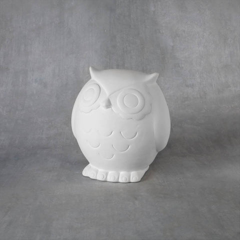 Duncan 38176 Bisque Large Tot Hoot Bank
