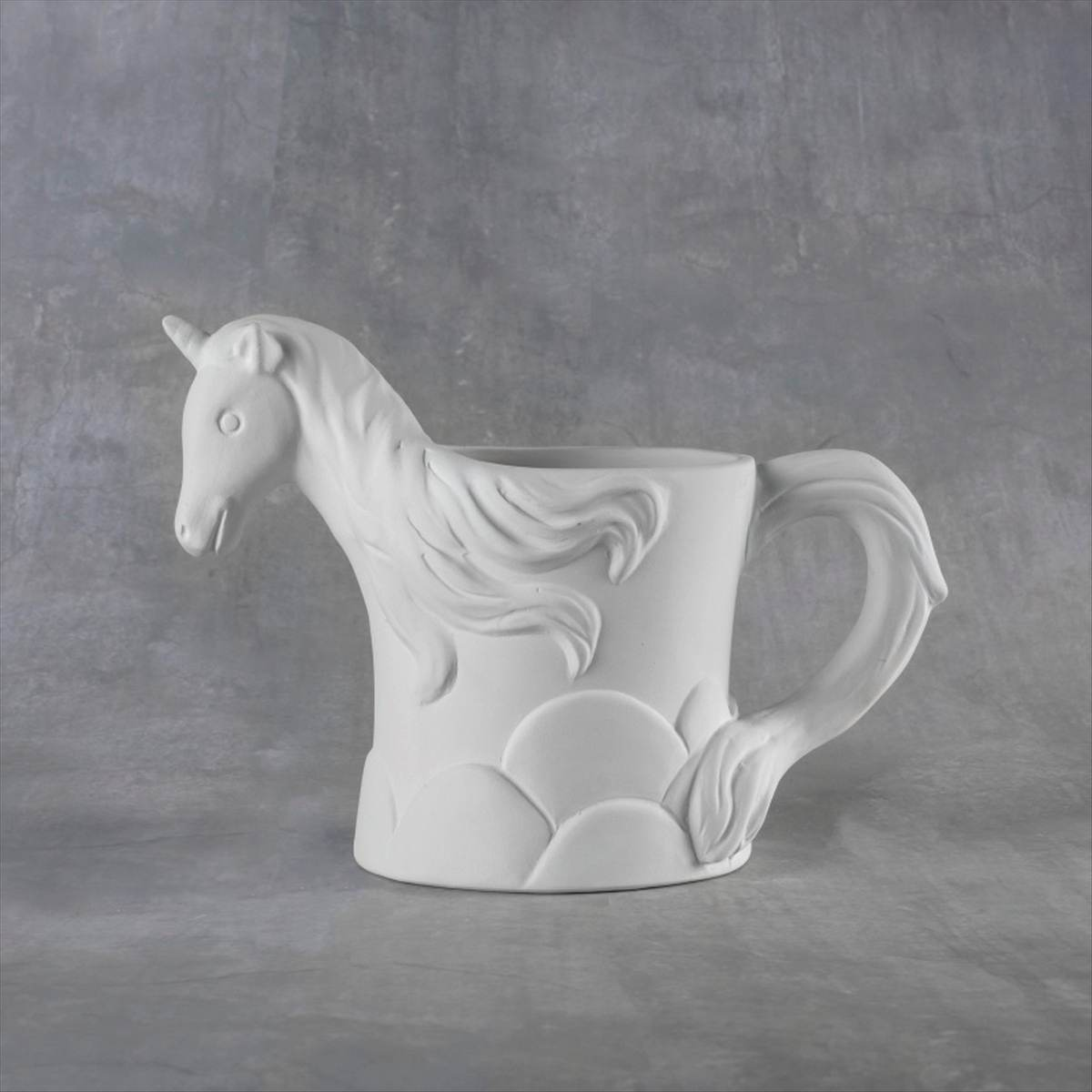 Duncan 38104 Bisque Unicorn Mug 12 oz