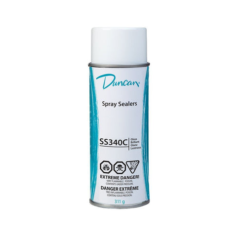 Duncan SS340C Clear Gloss Ceramic Sealer, 12 oz