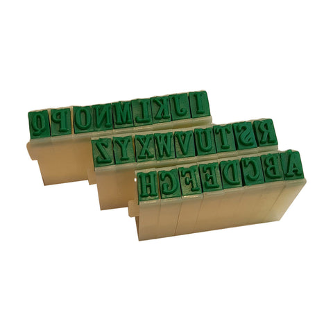 "1/4"" Letter & Number Stamp Set"