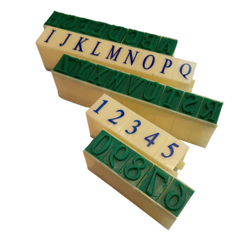 "11/16"" Letter & Number Stamp Set"