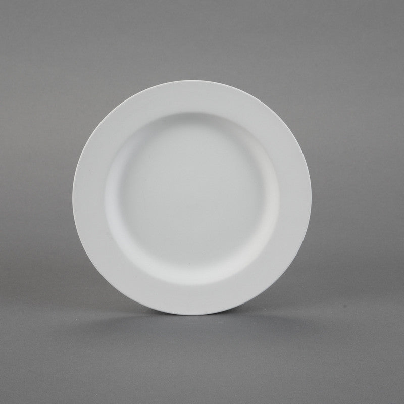 Duncan - 21424 Rimmed Bisque Salad Plate - Sounding Stone