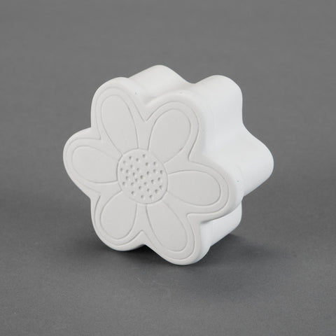 Duncan - 21688 Bisque Flower Trinket Box - Sounding Stone