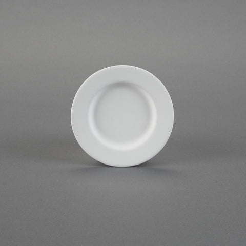 Duncan - 21765 Rimmed Bisque Dessert Plate - Sounding Stone