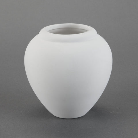 Duncan - 22705 Bisque Smooth Vase - MIM - Sounding Stone