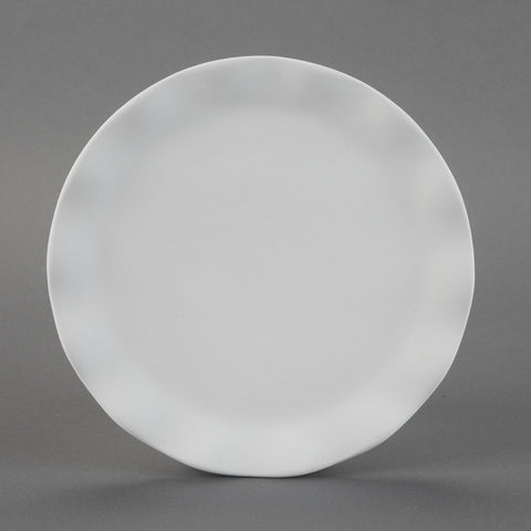 Duncan - 25821 Bisque Wavy Ware Salad Plate - Sounding Stone