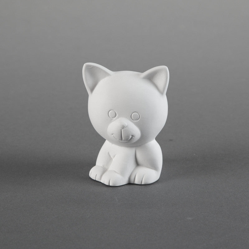 Duncan - 26775 Bisque Tiny Tot Kitty - Sounding Stone