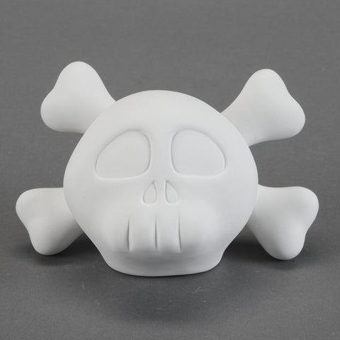 Duncan - 26778 Bisque Skater Skull - Sounding Stone