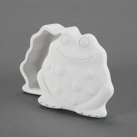 Duncan - 29860 Bisque Frog Box - Sounding Stone