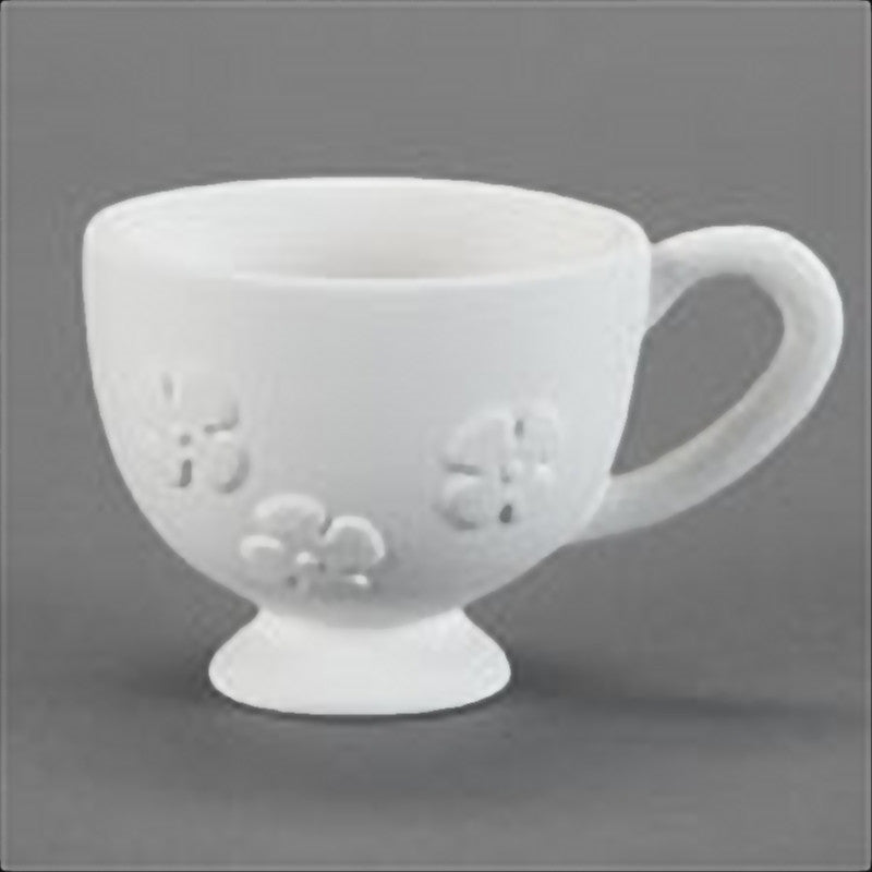 Duncan - 29865 Bisque Garden Party Cup - Sounding Stone