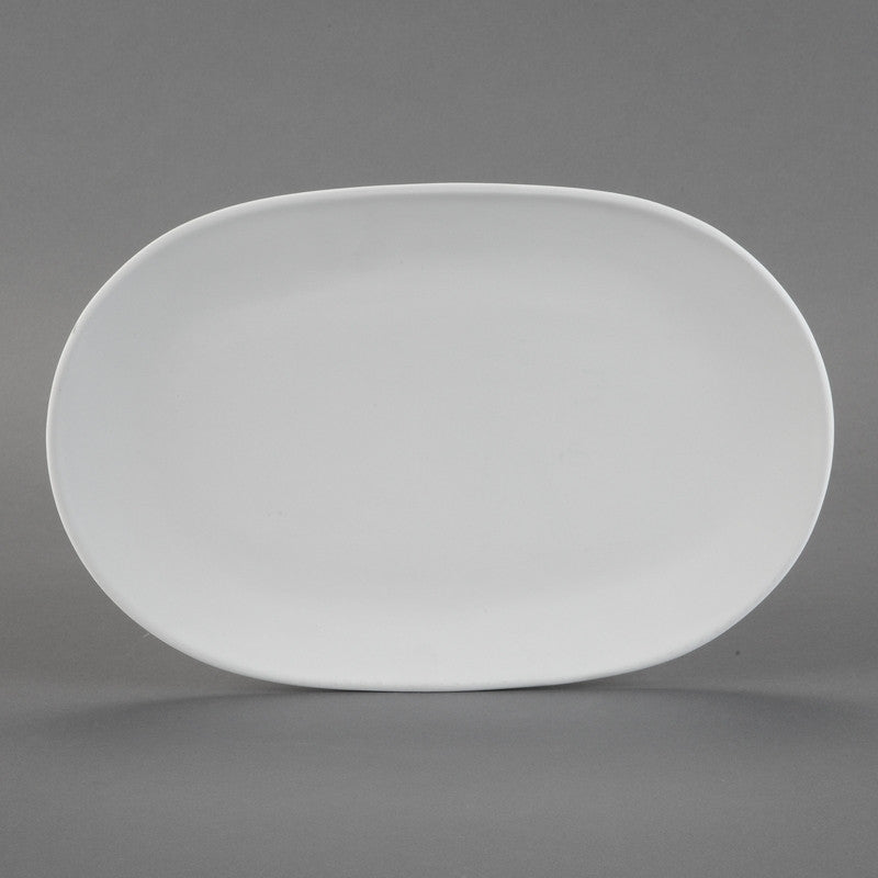 Duncan - 31223 Bisque Oval Platter - Sounding Stone