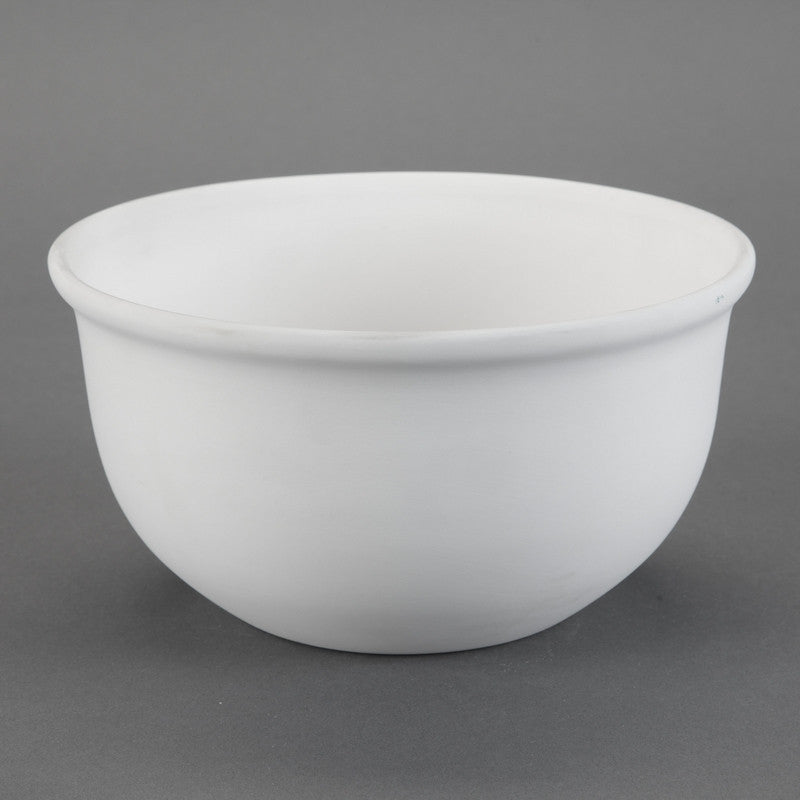 Duncan - 31509 Bisque Large Mixing Bowl - Sounding Stone