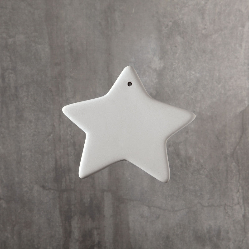 Duncan - 31517 Bisque Star Ornament - Sounding Stone