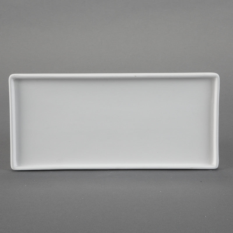 Duncan - 31528 Bisque Modern Large Bathroom Tray - Sounding Stone