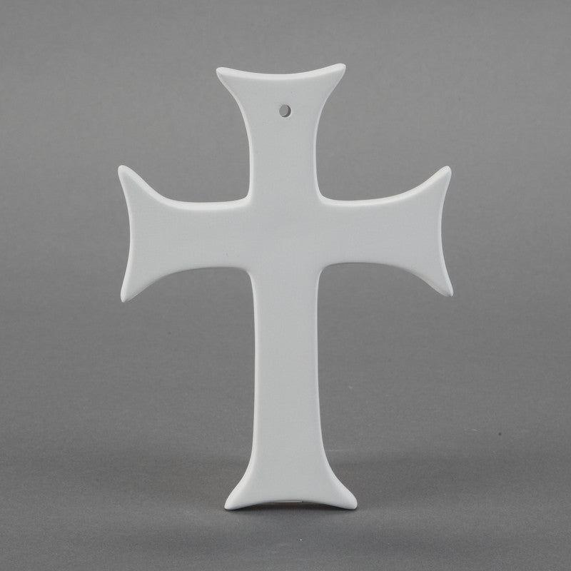 Duncan - 32786 Bisque Contemporary Cross - Sounding Stone
