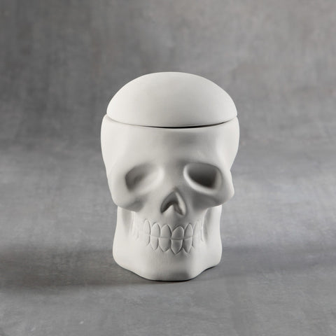 Duncan - 32854 Bisque Skull Box - Sounding Stone