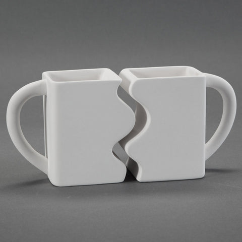 Duncan - 32932 Bisque Puzzle Mugs - Sounding Stone
