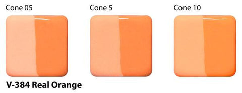 V-384 Real Orange Velvet Underglaze