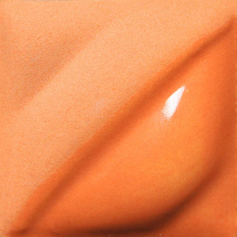 Amaco - Amaco V-384 Real Orange Velvet Underglaze - Sounding Stone