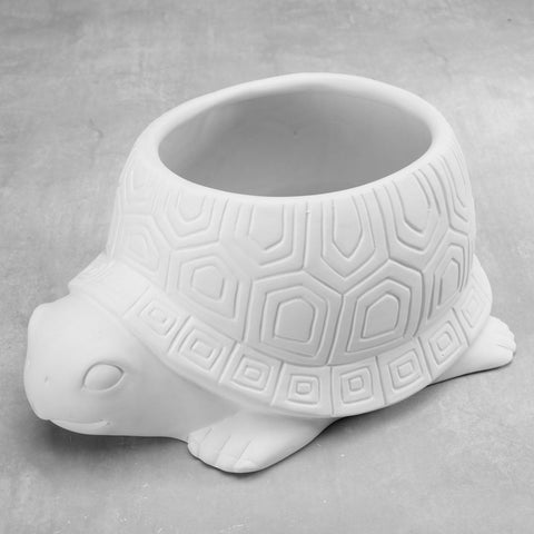 Duncan 38560 Bisque Turtle Planter