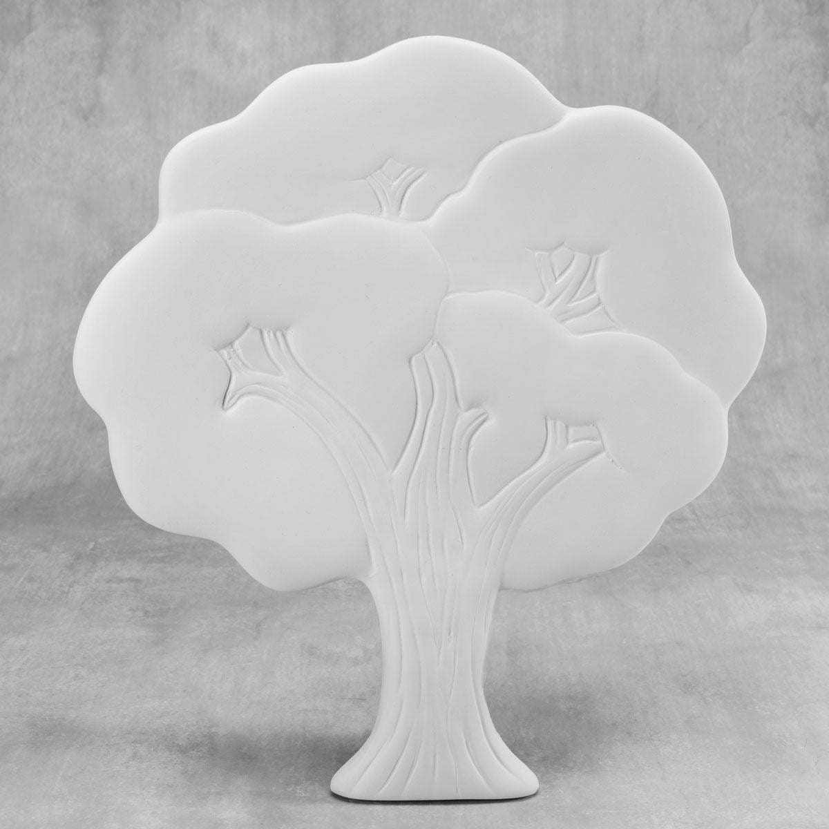 Duncan 38562 Bisque Tree Plaque