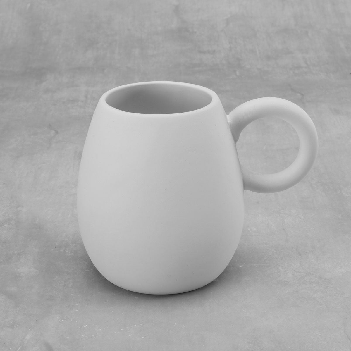 Duncan 38579 Bisque Little Loop Mug 16 oz.