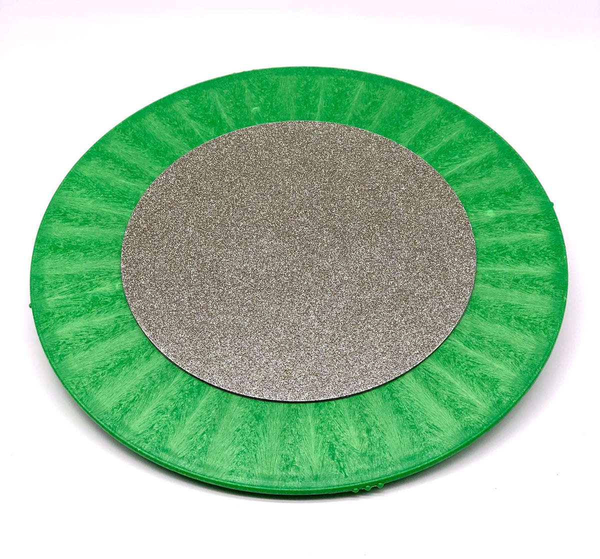 "DiamondCore 8 inch Diamond Grinding Disc on 12"" Bat (sold separately)"