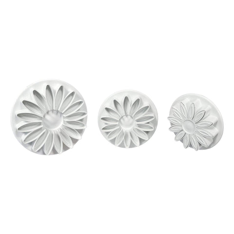 Sunflower Plunger Cutters, 3 pc
