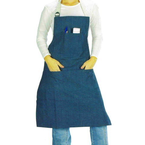 Denim Five Pocket Protective Apron