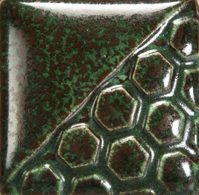 Mayco EL122 Malachite Elements Glaze