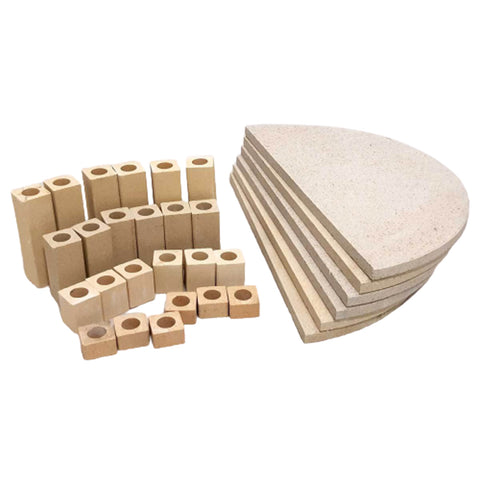 Kiln Furniture Kit No. 4 - For KM1018-3 Kilns