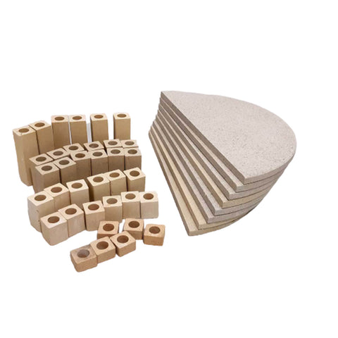 Kiln Furniture Kit No. 5 - For KM1022-3 Kilns