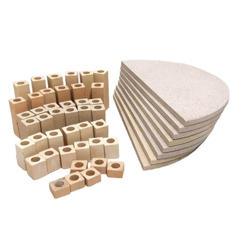 Kiln Furniture Kit No. 6 - For KM1027-3 Kilns