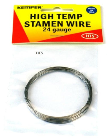 Kemper HTS High Temperature Stamen Wire, 24 gauge