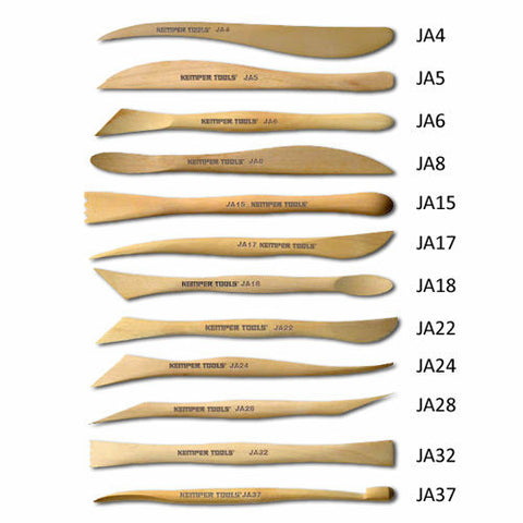"Kemper JAS Wood Modeling Set, 6"" - 12 pieces"