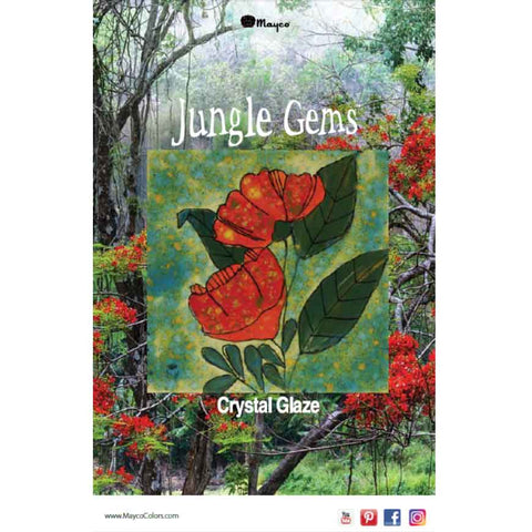 2019 Mayco Jungle Gems Glaze Brochure