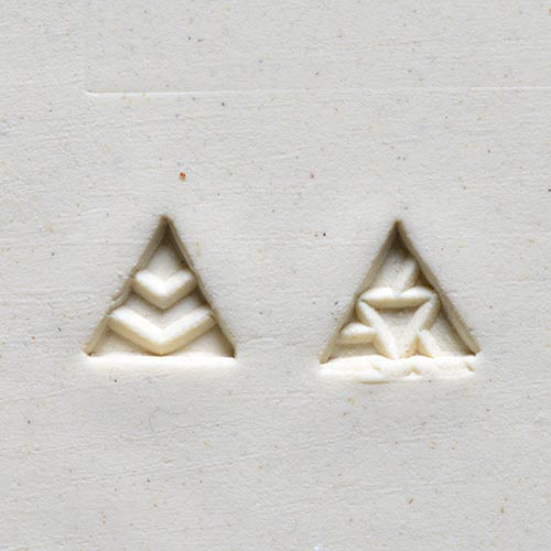 MKM Tools Sts3 Small Triangle Stamp - Geometric Shapes