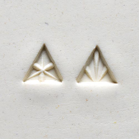 MKM Tools Sts6 Small Triangle Stamp - Geometric Designs