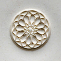 MKM Tools Scl011 Large Round Stamp - Rose Window