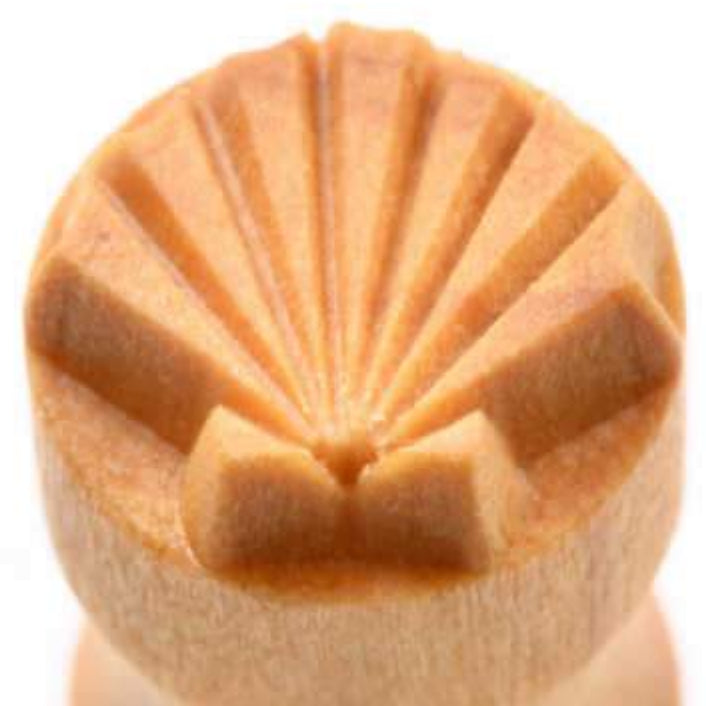 MKM Tools Scs042 Small Round Stamp - Sea Shell