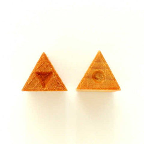 MKM Tools Sts4 Small Triangle Stamp - Triangle and Dot