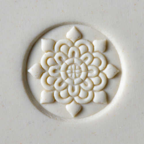 MKM Tools Scm210 Medium Round Stamp - Doily
