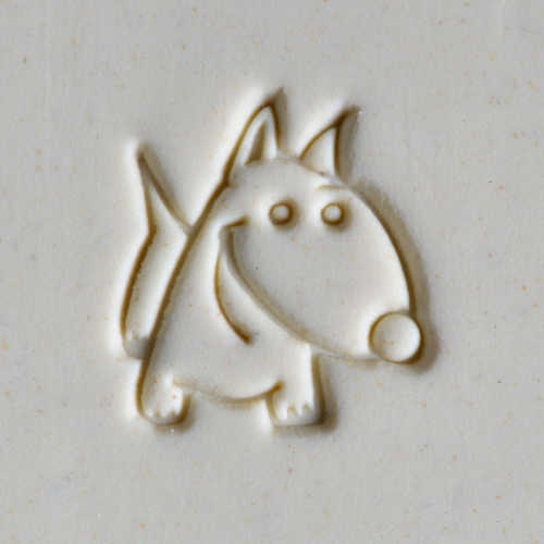 MKM Tools Scm211 Medium Round Stamp - Cartoon Dog