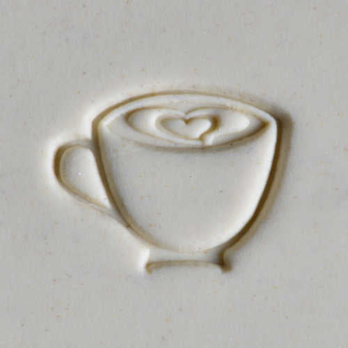 MKM Tools Scm214 Medium Round Stamp - Latte Love