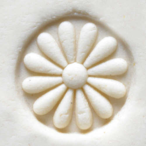 MKM Tools Scs003 Small Round Stamp - Flower 3