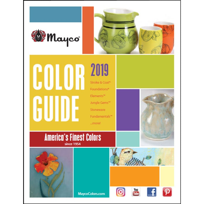 2018 Mayco Color Guide