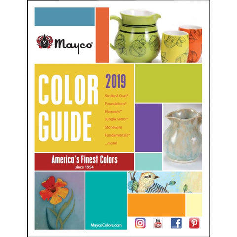 2019 Mayco Color Guide