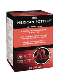 Amaco Mexican Pottery Self Hardening Clay