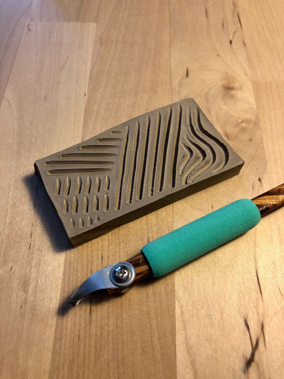 DiamondCore P13 Curved U-Tip 1mm Zebrawood Pencil Carver